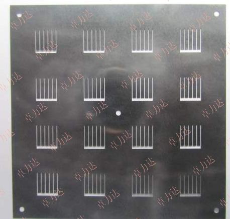 电极掩膜模板